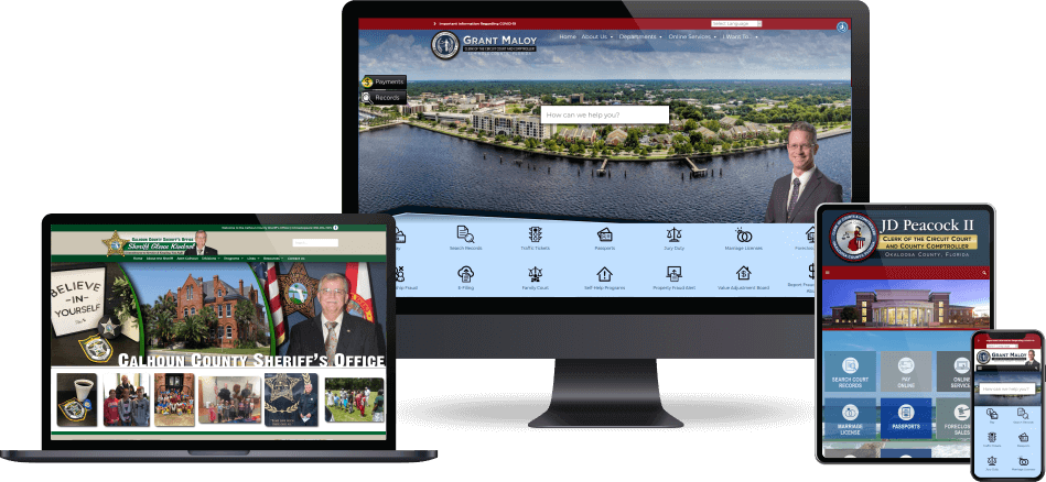 County Clerk ADA Compliant Website Developer Serving Cities in Florida